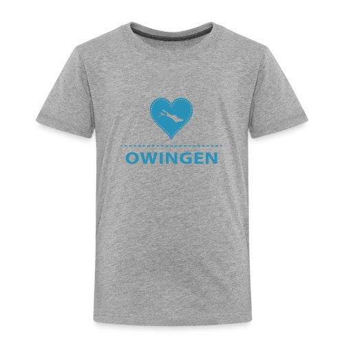 KIDS Owingen flock blau - Kinder Premium T-Shirt