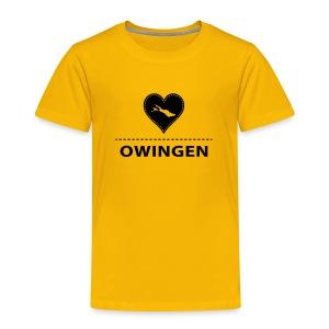 KIDS Owingen flock schwarz - Kinder Premium T-Shirt