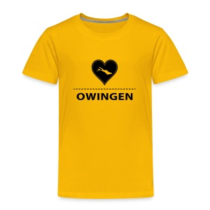 KIDS Owingen flock schwarz - Kinder Premium T-Shirt