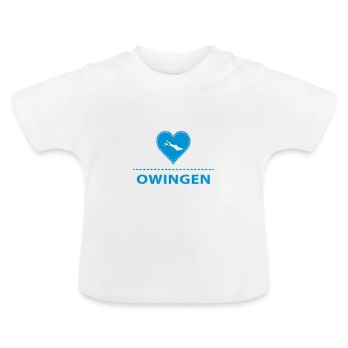 BABY Owingen flex blau - Baby T-Shirt