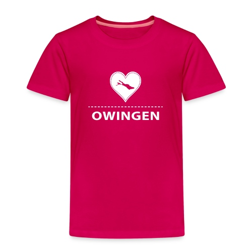 KIDS Owingen flock weiß - Kinder Premium T-Shirt