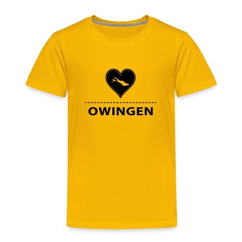 KIDS Owingen flex schwarz - Kinder Premium T-Shirt