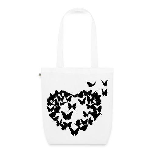Tasche Schmetterling - Bio-Stoffbeutel