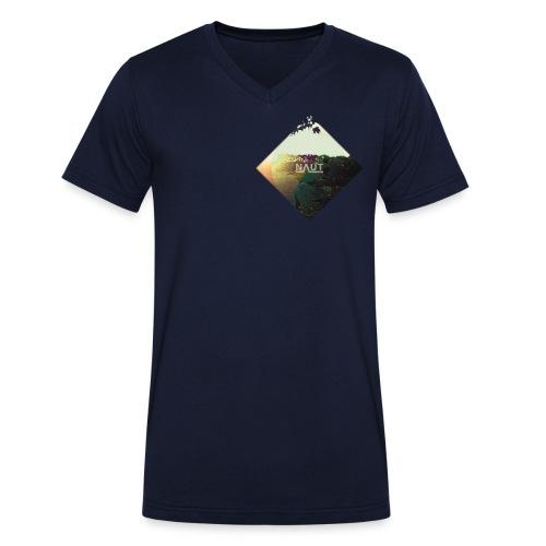 Naut-Raute - Männer Bio-T-Shirt mit V-Ausschnitt von Stanley & Stella