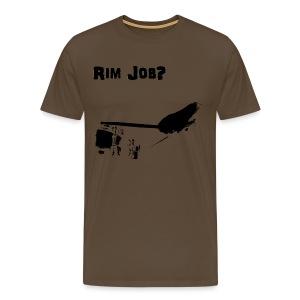 Rim Job - Men's Premium T-Shirt