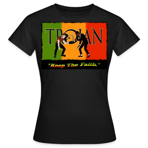 Front and back 2 design Ladies quality T Shirt. - Women's T-Shirt