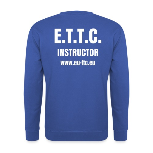 Sweat ETTC INSTRUCTOR - Sweat-shirt Homme