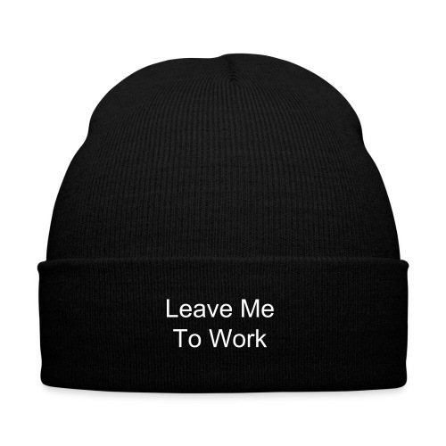 Leave Me - Winter Hat