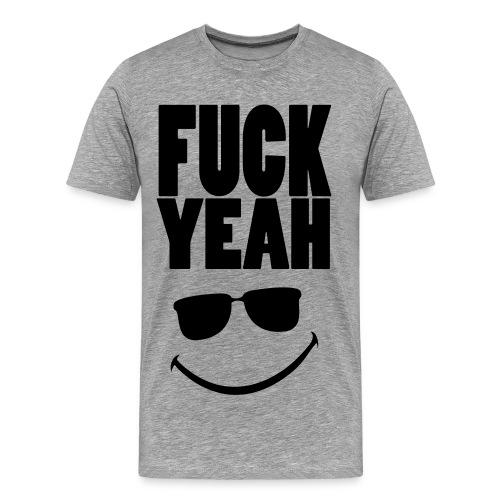 Fuck Yeah 8) Shirt - Männer Premium T-Shirt