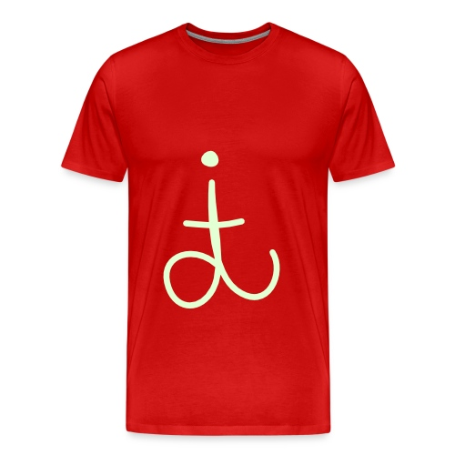 dit original - glow in the dark - Men's Premium T-Shirt
