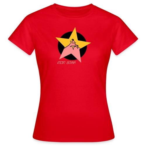 Frauen T-Shirt - 2011VALENTIN,Monster,mon,Star,Drache,Ungetüm,Alien,gorx,gorx4,zähne,Zahn,stern,Frauen,Männer,Kinder,Kids,Klee,Kleeblatt