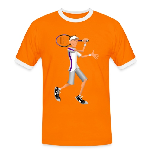 Tennis Ringer - Men's Ringer Shirt