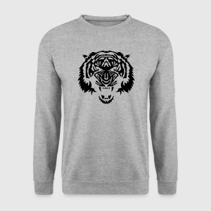 tigre animal tribal sauvage tiger 3 Sweat-shirts - Sweat-shirt Homme