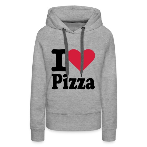 Vrouwentrui I love Pizza - Vrouwen Premium hoodie