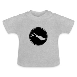 BABY Lake flex schwarz - Baby T-Shirt
