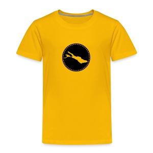 KIDS Lake flock schwarz - Kinder Premium T-Shirt