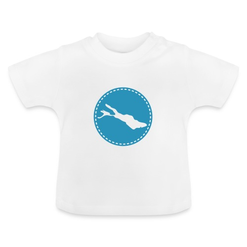 BABY Lake flock blau - Baby T-Shirt
