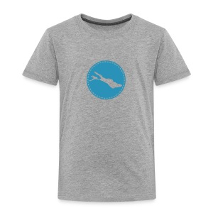 KIDS Lake flock blau - Kinder Premium T-Shirt