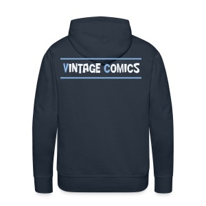 Felpa Vintage Comics - Felpa con cappuccio premium da uomo