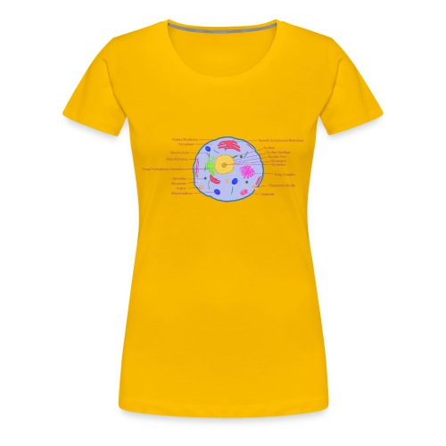 Animal Cell - Women's Premium T-Shirt
