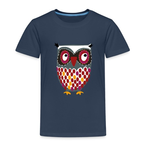 KinderShirt mit Eule - Kinder Premium T-Shirt