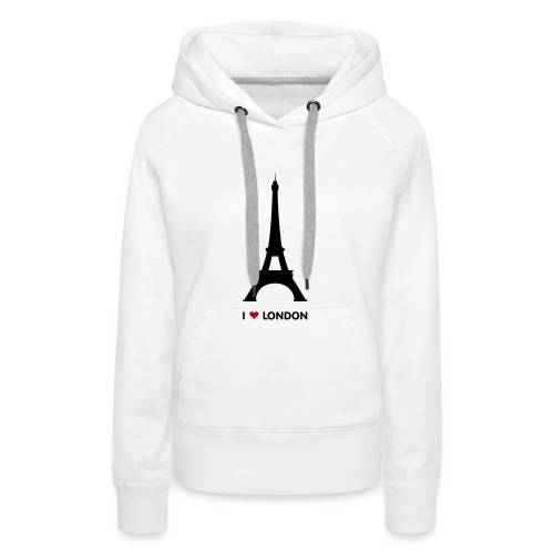 I love London vrouwen premium hoodie - Vrouwen Premium hoodie