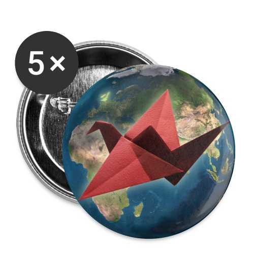Mother Earth Badges - Buttons medium 32 mm