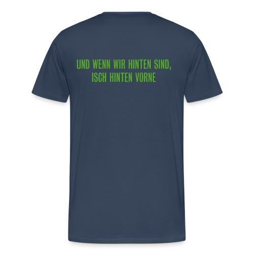 Männer T-Shirt beidseitig bedruckt - Männer Premium T-Shirt