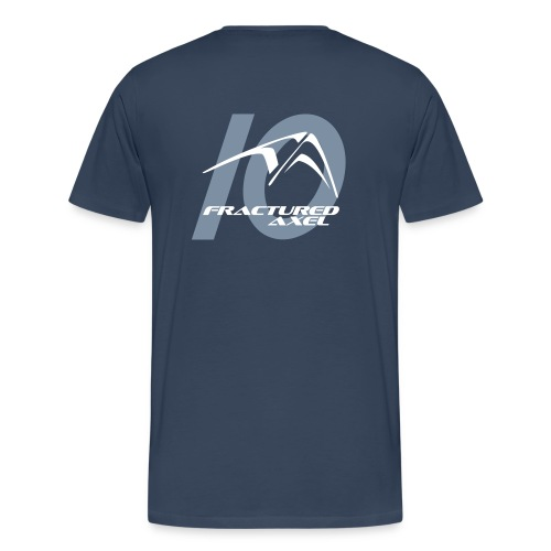 FA 10 year Logo T - Men's Premium T-Shirt