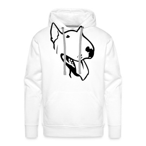 happy bull man - Men's Premium Hoodie