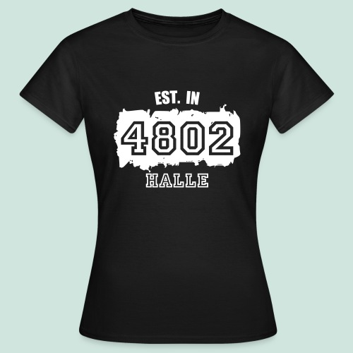 4802 Halle - Established - Frauen T-Shirt