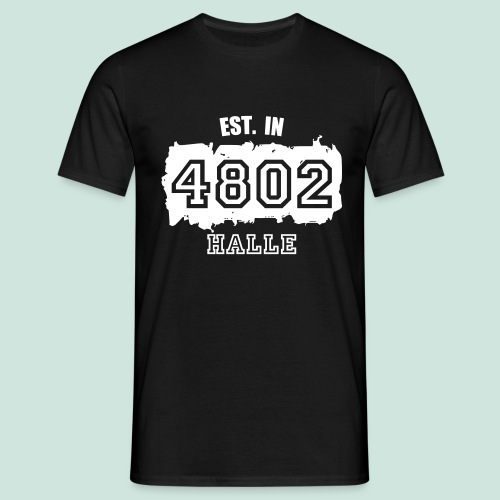 4802 Halle -  Established - Männer T-Shirt