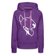Hoodies & Sweatshirts ~ Women's Premium Hoodie ~ Happy bull