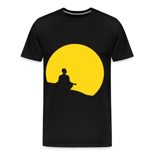 Meditate black - Mannen Premium T-shirt