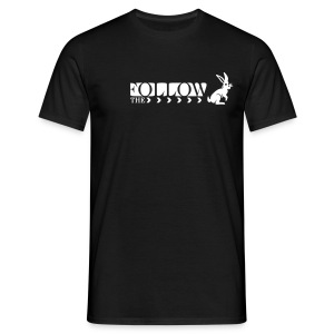 FOLLOW THE RABBIT - Männer T-Shirt