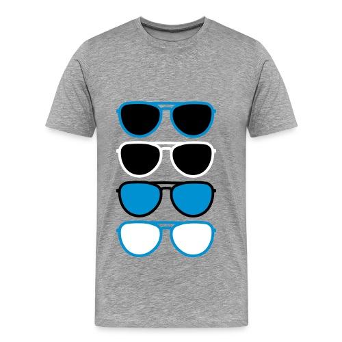 Sunglasses - Mannen Premium T-shirt