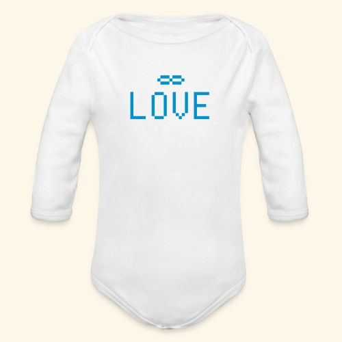 Infinite Love - Baby Bio-Langarm-Body