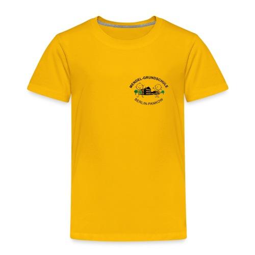 Mendel-Shirt gelb - Kinder Premium T-Shirt