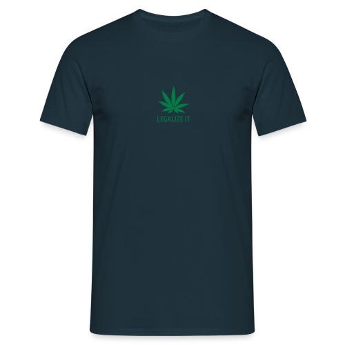 Legalize It -paita - Men's T-Shirt