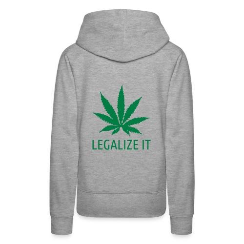 Legalize It -huppari - Women's Premium Hoodie