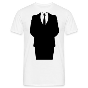 Suit and tie (Homme) - T-shirt Homme