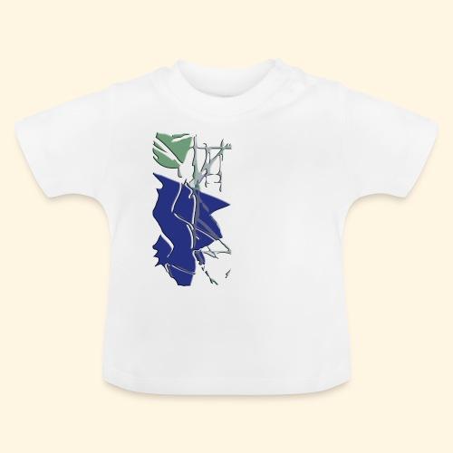 Baby TShirt- zersplittert - Baby T-Shirt