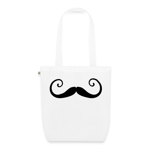 Moustache Curly Organic Bag - Bio-Stoffbeutel