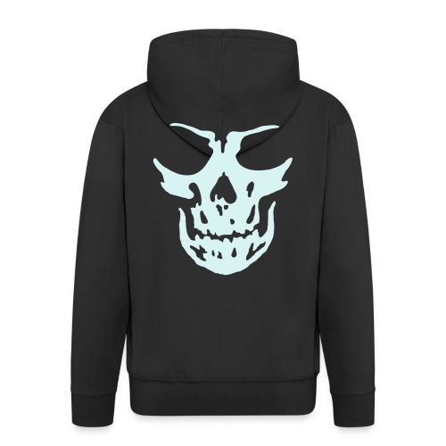 Skulls Front&Back - Männer Premium Kapuzenjacke