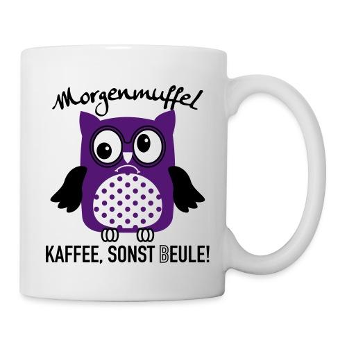 Kaffe sonst Eule - Tasse
