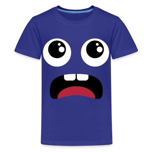 t-shirt faccina - Maglietta Premium per ragazzi