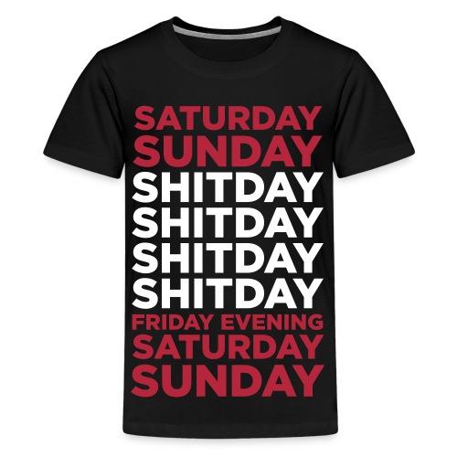 t-shirt week - Maglietta Premium per ragazzi