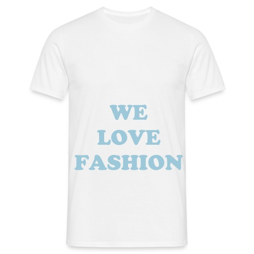 We love  - Mannen T-shirt