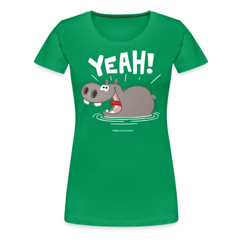 YEAH! - Frauen Premium T-Shirt