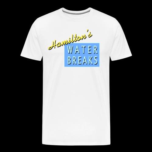 Hamiltons waterways - Men's Premium T-Shirt